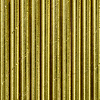 10 Gold metall papier Stroh