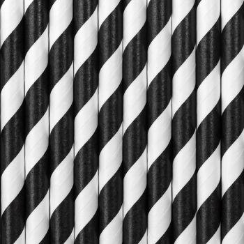 10 Strohpapier schwarz