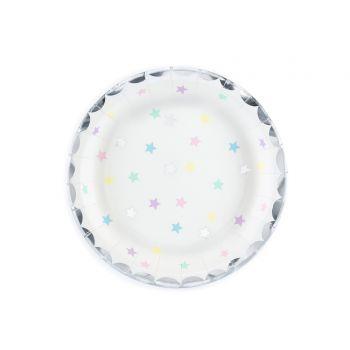 6 kleine Teller star sweet