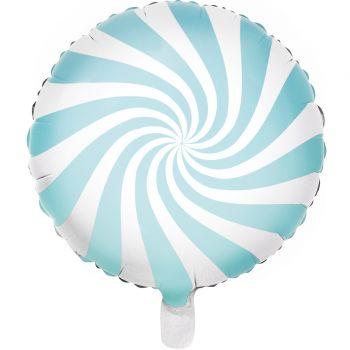 Helium-Ballon Candy blau