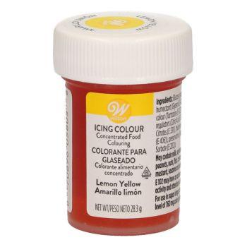 Lebensmittelfarbstoff Wilton Gelb Zitrone