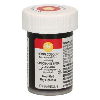 Lebensmittelfarbstoff Wilton rot