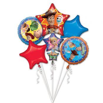 Ballonbündel helium Toy Story 4