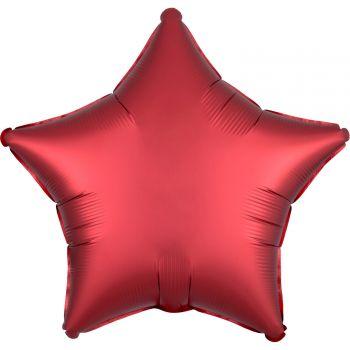 Helium Ballon Satin Luxus Stern