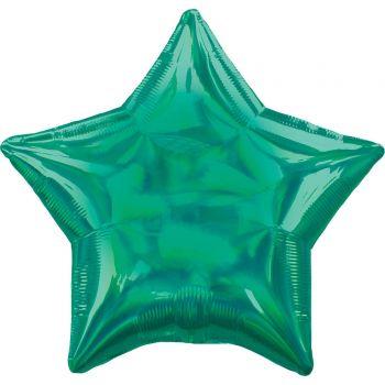 Helium-Ballon stern irisiert