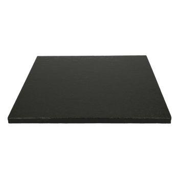 Schwarze Quadratkuchensohle 12mm 30.5cm