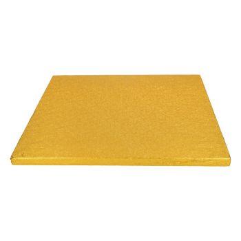Quadratische Sohle Gold 12mm 30.5cm