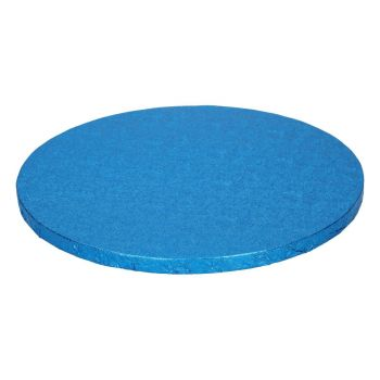 Runde Tortensohle blau 12mm 25cm