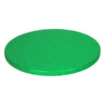 Runde Kuchen-Sohle grün 12mm 25cm