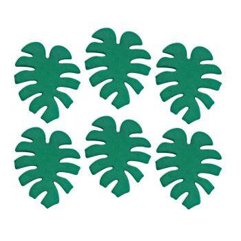 Mini-Zuker Figuren tropische Blätter