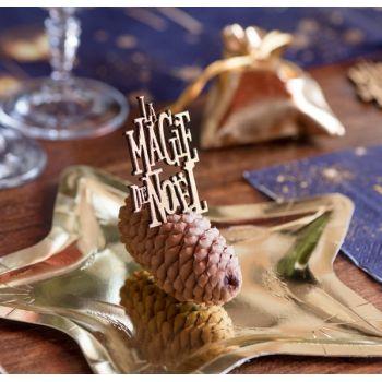 10 Konfetti Die Magie der Weihnacht Gold