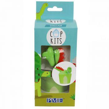 Kit 6 Cupcakes Dinosaurier