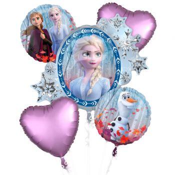 Ballonstrauß Die Eiskönigin II