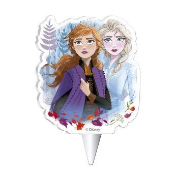 Kerze Die Eiskönigin II für Kuchen