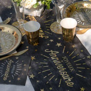 Geburtstags-Tischpfad Verzaubert Gold
