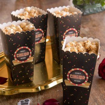 8 Hollywood Pop Corn Boxen