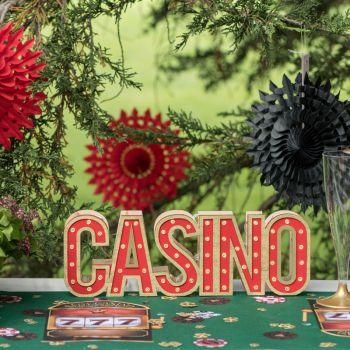 Beleuchtete herzstück tishdeko Casino