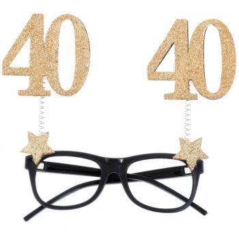 Glitzer-Lünette 40 Jahre