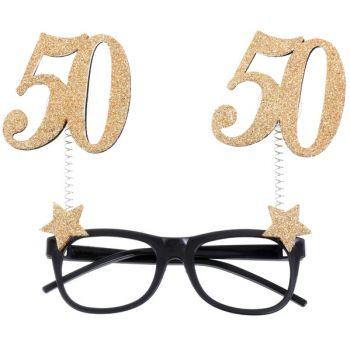 Glitzer-Lünette 50 Jahre