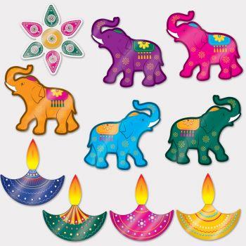 10 Indische Dekore