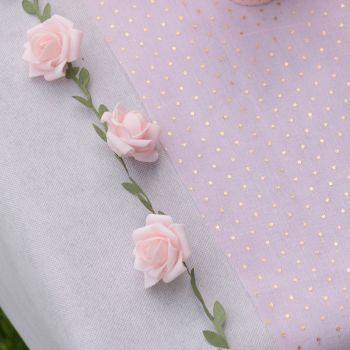 Rosengirlande rosa