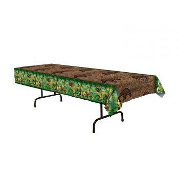 Kunststoff-Tischtuch Dinosaurier