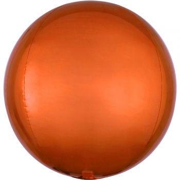 Luftballon bubble orange