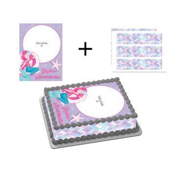 Easycake Kit für personalisierte Kuchen Meerene