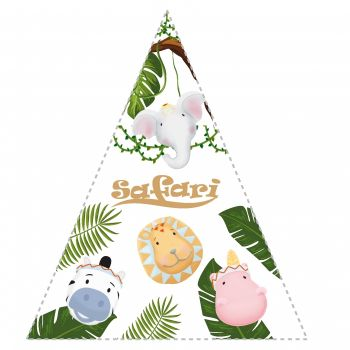 Triangel-Sticker Safari