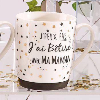 Tasse Ich habe Dummheit, Sternen-Mama