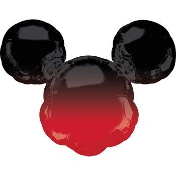 Super Riese Ballon micky Kopf rot gedrönt