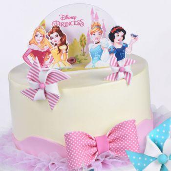 Kit-Deko-Kuchen Pop up Prinzessinnen disney