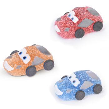 3 Gelierte Autos mit Zucker