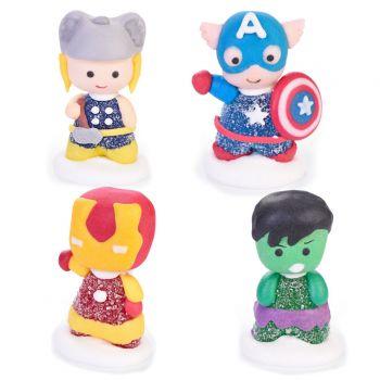 4 Avengers mit Zuckergeeignet