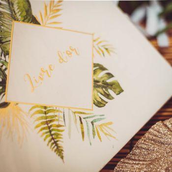 Tropisches Gästebuch
