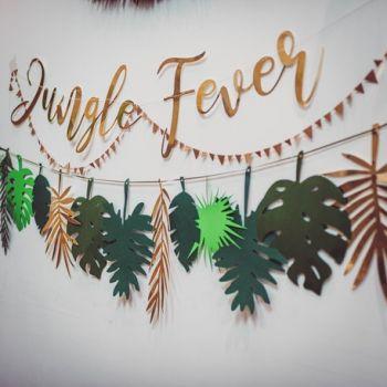 Girlande Dschungel fever