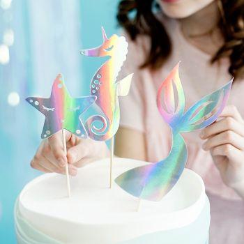 Cake toppers Meerjungfrau