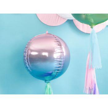 Luftballon bubble blau und violett
