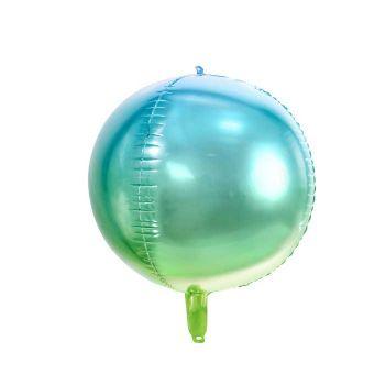 Luftballon bubble blau und grün