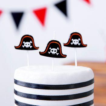 5 Kerzen Pics Piratenhut
