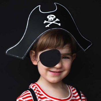 Kit Piraten Hut und Augenkappe