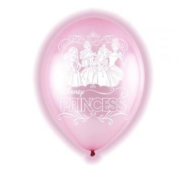 5 LED-Luftballons Prinzessin disney