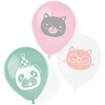 6 luftballon hello pets