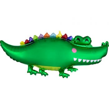 Helium-Ballon crocodile rigolo