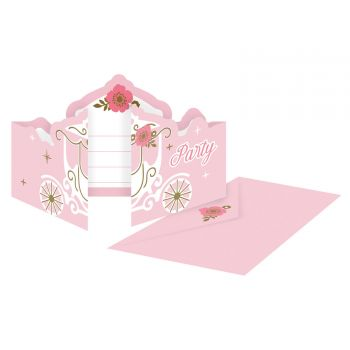 8 Einladungen für die Prinzessin des Tages