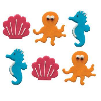 Mini-zuker Figuren Ozean