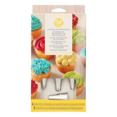 Schmücken Sie Ihre Cupcakes einfach mit diesem praktischen Set von Wilton Dekorationen. Perfekt, um Ihre Cupcakes auf einer Party oder...