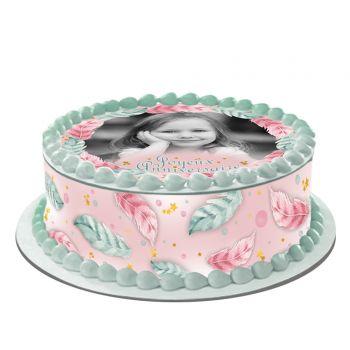 Easycake Kit für personalisierte Kuchen Federn