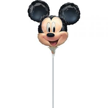 Mini Ballon micky aufgeblasen