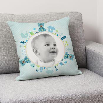 Kissen benutzerdefinierten Dekor Baby Baby Blau